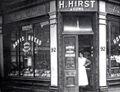 H Hirst & sons in 1935